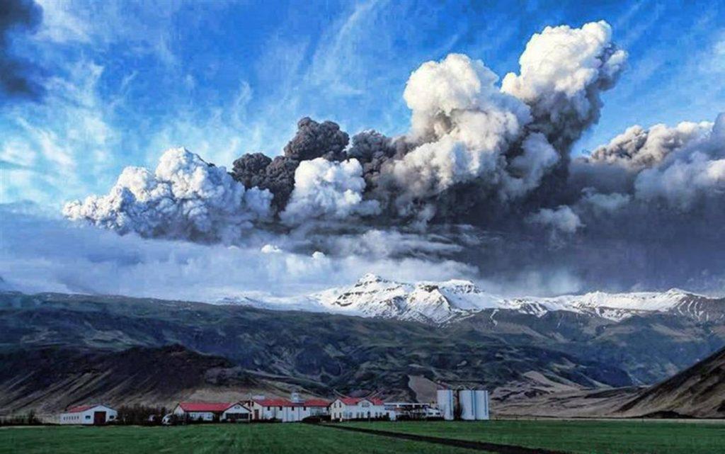 islanda eruzione modifica il clima