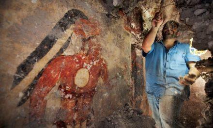 Piramida de sange descoperita pentru prima oara