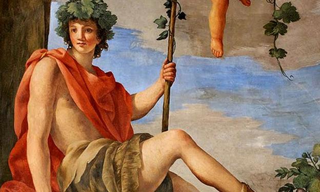 Dionysos – Bacchus zeul vinului