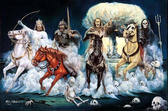 Cei Patru Calareti ai Apocalipsei