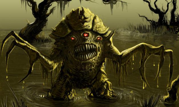 Demonii mlastinilor din folclorul slavilor