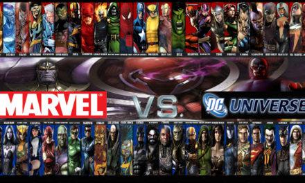 Universul Marvel Comics versus Universul DC