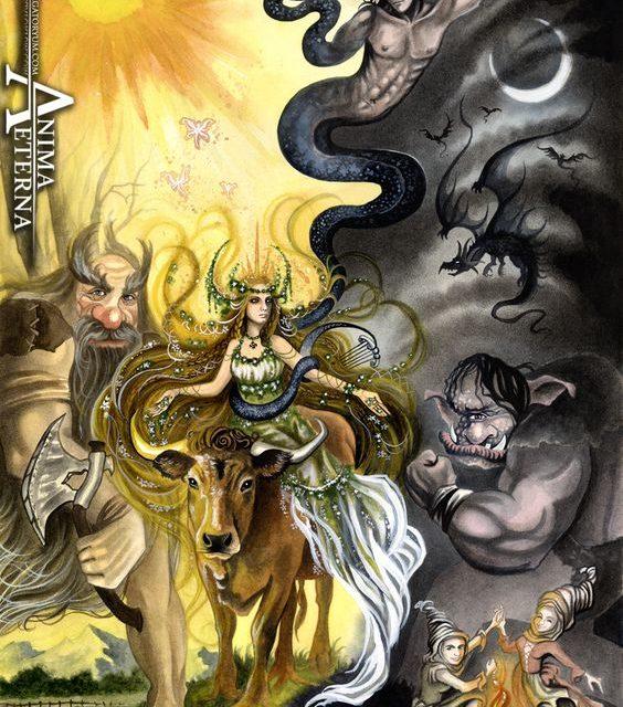 Mitologia bascilor