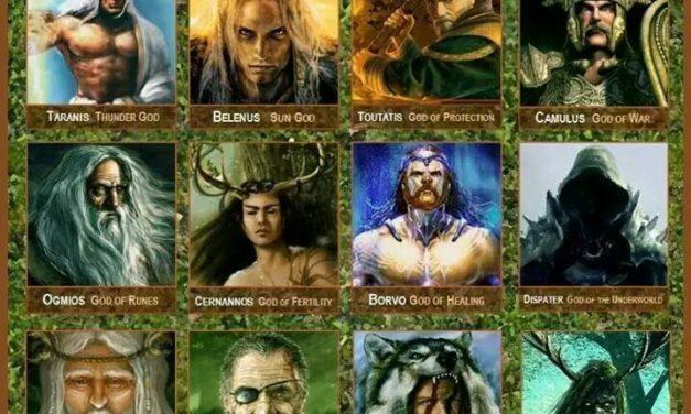 Zeii si mitologia celtilor