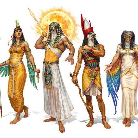 Zeii si mitologia Egiptului Antic