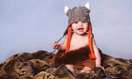 Nascut sub semnul Valhallei – copiii vikingi si arta razboiului