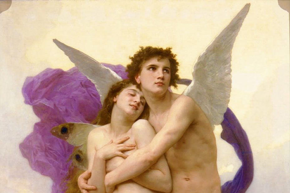 Mitul lui Eros si Psyche: cea mai frumoasa poveste de iubire