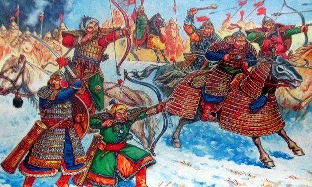 Armata mongolilor si Ginghis Han