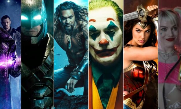 Top 10 filme DC Comics in curs de aparitie (2021-2022)