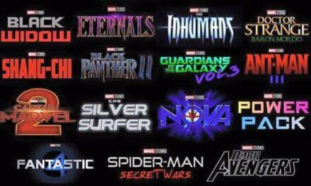 TOP 10 filme MARVEL anuntate 2021-2022