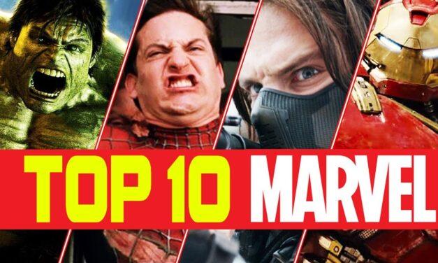 Top 10 filme Marvel